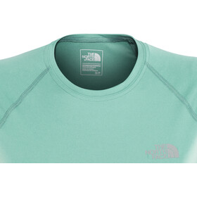 The North Face Flex Hardloopshirt korte mouwen Dames turquoise